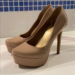 Jessica Simpson High Nude Heel